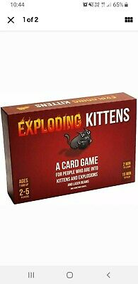 AU20 • Buy Exploding Kittens Card Game Family-Friendly Party Game NEW Fast Free Shipping AU
