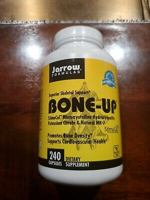 Bone-Up 240 Caps By Jarrow Formulas Exp 08/2021 Or Better Brand New Sealed  • 14.27£