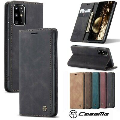 AU10.95 • Buy Samsung Galaxy Note 9 8 S20 S20 Plus S20 Ultra Magnetic Leather Wallet Case Me