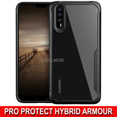 Huawei P20 Pro Lite P Smart P30 Case Luxury Hybrid Shockproof Protective Cover • 4.99£