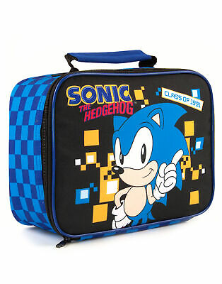 Sonic The Hedgehog Retro Style Gaming Boys Kids Lunch Bag • 14.99£