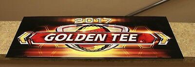 $5.50 • Buy Golden Tee Live 2017 Marquee Back Lit Sign, Measures 26  Long X 9.5  Tall - NEW