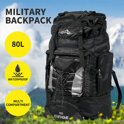 AU29.99 • Buy Military Backpack Tactical Hiking Camping Bag Rucksack Outdoor Trekking Travel