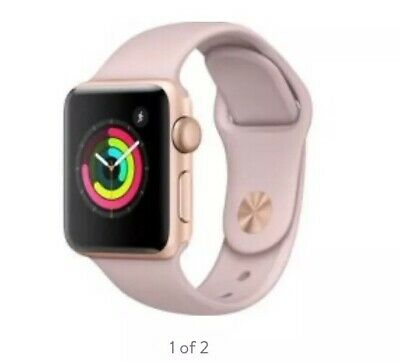$ CDN262.31 • Buy Apple Watch Series 3 - Rose Gold With Pink Sand Sport Band (GPS + Cellular) -...