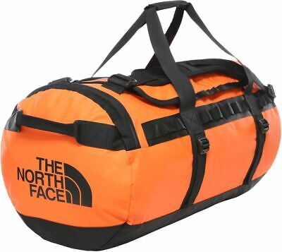 THE NORTH FACE Base Camp Duffel T93ETP3LZ Waterproof Travel Bag 71 L Size M New • 119.99£