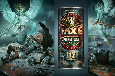 $ CDN22.52 • Buy EXTRA RARE SERIES EXCLUSIVE BEER CAN Faxe Limited Edition 112 Years Old Russian