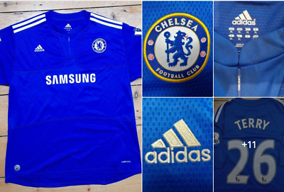 Chelsea Home Football Shirt 2009 - 2010 Soccer Jersey  Terry 26  Size XL • 35.42£