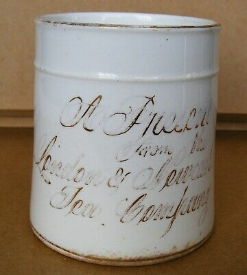 Advertising - A Present From The London & Newcastle Tea Company - Mug C1880s  • 19.99£