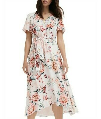 AU20.50 • Buy Witchery Wrap Dress In Adella Multi Print, Size 12 & Brand New With Tags RRP$160
