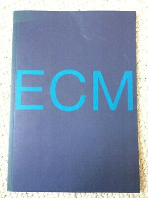 RARE REFERENCE ECM 1995 Catalogue 92 Page Brochure WORKS / NEW SERIES • 10£