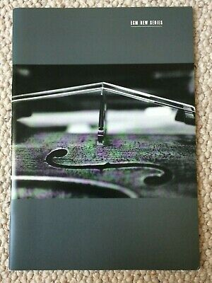 RARE REFERENCE ECM NEW SERIES 1999 Catalogue 42 Page Brochure  • 7.50£