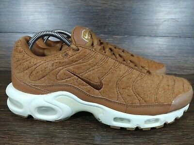 $90 • Buy Nike Air Max Plus TN Tuned 1 Quilted Wool Brown Wheat 806262-200 Size 9 Mens