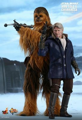 AU699.99 • Buy STAR WARS ~ Han Solo & Chewbacca 1/6th Scale Action Figure Set MMS376 (Hot Toys)