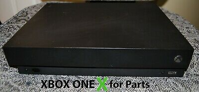 $140 • Buy Microsoft Xbox One X  Console Only - Comes With A 500GB HDD  - For Parts