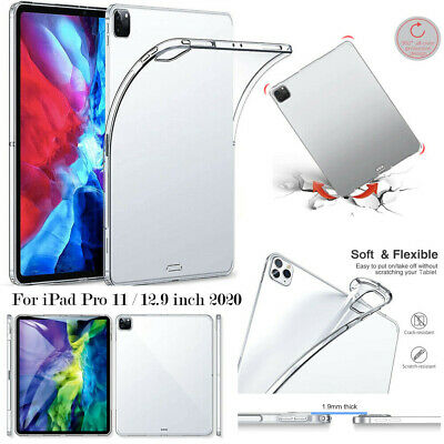 AU13.99 • Buy For Apple IPad Pro 11 & 12.9-inch 2020 Shockproof Soft Clear Thin TPU Case Cover