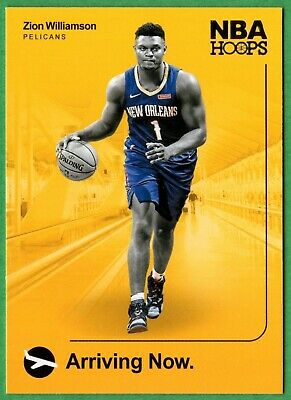 $14.99 • Buy 2019-20 Hoops Arriving Now 2 Zion Williamson Rc New Orleans Pelicans
