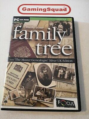 Create Your Family Tree PC, Supplied By Gaming Squad • 3.50£
