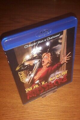 NAIL GUN MASSACRE Bluray Rare OOP Code Red US Import Region A Free (Ltd To 1000) • 24.99£