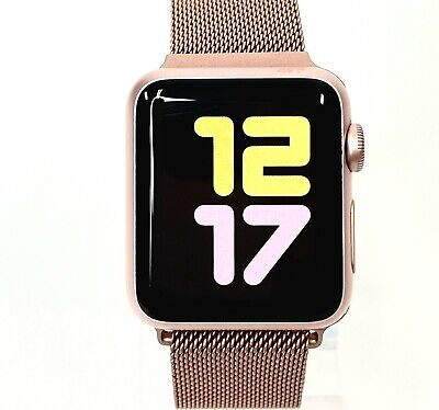 $ CDN195.66 • Buy Apple Watch Series 1 38mm Space Rose Gold Case GPS Pink Sport Band With Case