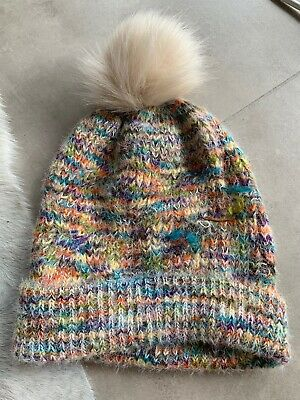 AU2.99 • Buy New Urban Outfitters Rainbow Yarn Pom Pom Beanie