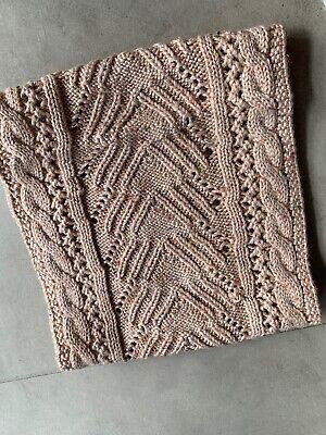AU2.99 • Buy New Urban Outfitters Women's Pink Femme Cable Knit Neck Gaiter Scarf