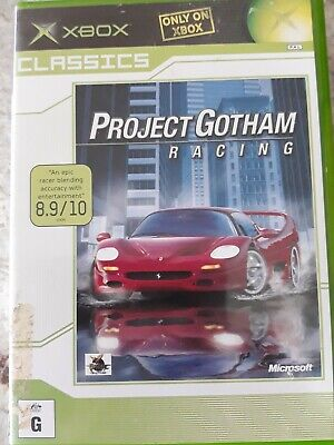 AU8 • Buy Project Gotham Racing 3 (Microsoft Xbox 360) With Manual - Disc In New Condition