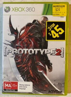 AU8.90 • Buy Prototype 2 Limited Edition Case - Xbox 360 Game PAL W/ Manual Good Free Postage