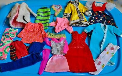 $ CDN40 • Buy LOT 18 X Vintage BARBIE MOD Clothes From 1970's FAIR To EXC #10