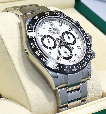 $ CDN35977.68 • Buy Rolex Daytona 116500LN Chrono Oyster PANDA Ceramic Bezel Watch Box Papers Unworn