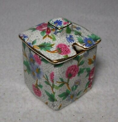 $ CDN39.94 • Buy ROYAL WINTON China OLD COTTAGE CHINTZ Pattern Square Mustard Jar With Lid