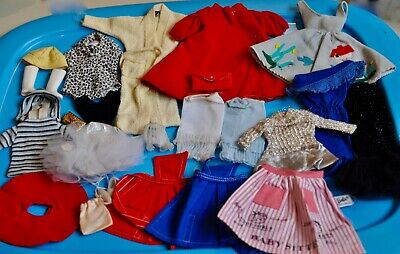 $ CDN40 • Buy LOT 18 X Vintage BARBIE Clothes From 1960's GOOD To EXC #11
