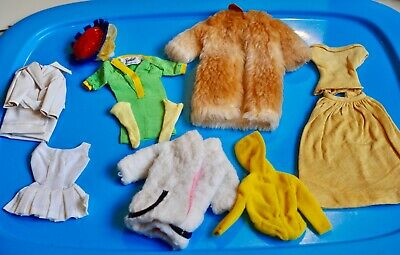 $ CDN40 • Buy LOT 9 X Vintage BARBIE & MOD Clothes From 1960's To 1970's Good To EXC #11