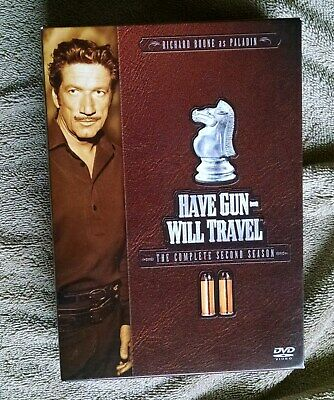 $10 • Buy Have Gun WIll Travel The Complete Second 2nd Season 6-DVD Set VG+ Richard Boone
