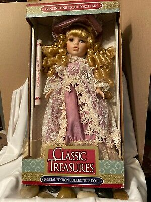 $ CDN18.14 • Buy Porcelain Classic Treasures Special Edition Collector's  Doll Limited Edition