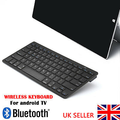New Slim Wireless Bluetooth Keyboard For Imac Ipad Android Phone Tablet Uk • 8.99£