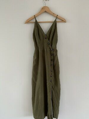 AU15 • Buy Urban Outfitters Khaki Dress - Xs