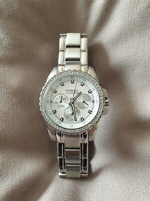 View Details Ladies Fossil Watch 30mm Face, 35mm Bezel • 30.00£