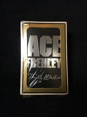 Ace Frehley Trouble Walkin' Gamaco Bridge Playing Cards, Factory Sealed, Kiss • 16.72£