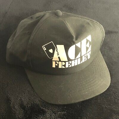 Ace Frehley Promotional Baseball Hat, NEW, Not AUCOIN, Not KISS, 1990 • 16.27£