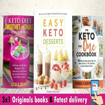 $2.99 • Buy 🔥3x1 The Ultimate Keto Easy Smoothies , Desserts And Cookbook Low Carb [p-d-f]✅