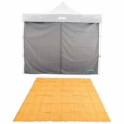 AU75.91 • Buy Adventure Kings Gazebo Side Wall 3x3m Waterproof + Mesh Flooring 3x3m Camping