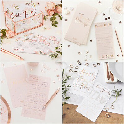 Hen Party Advice Cards Team Bride To Be Wedding Advice For The Bride Groom Cards • 3.89£