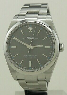 AU8000 • Buy Rolex Ref 114300 Steel Auto 39mm Rhodium Dial Oyster PerpetualFrom 2018