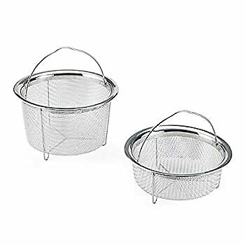 $59.98 • Buy 5252247 Official Mesh Steamer Baskets, Set Of 2, Compatible With 6-quart And 8-