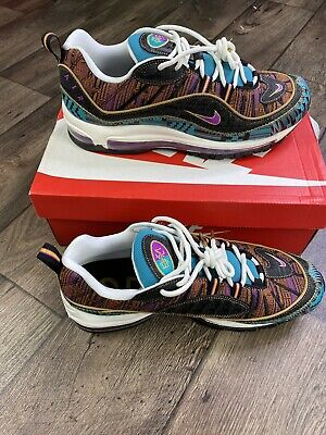 $140 • Buy Nike Air Max 98 BHM Black Hot Punch Running Shoes CD6090 001 Men's Size 10.5