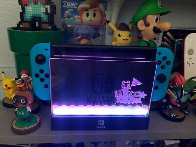 $25 • Buy Nintendo Switch Acrylic Panal For Led Shield Dock Animal Crossing