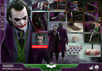 $580 • Buy Hot Toys THE DARK KNIGHT THE JOKER 1/4 Scale Action Figure *Exclusive* *used*