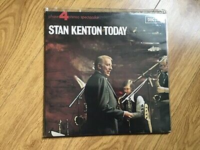 Stan Kenton Today - Uk 2lp Live Recordings 1972 Decca Phase 4 Stereo Excellent + • 3.99£