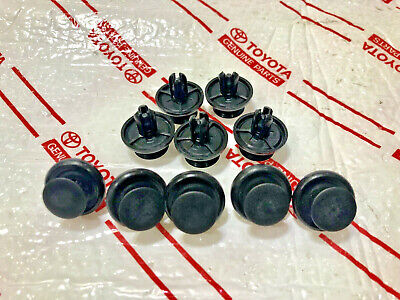 $9.99 • Buy *new (10) Toyota Scion Camry Oem Plastic Push Clips Hood Engine Under Cover