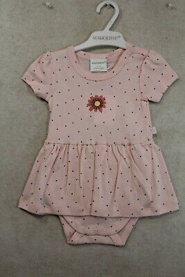 AU30 • Buy Baby Girl Size 000,00,0 Marquise Summer Pink Romper With Heart Print NWT
